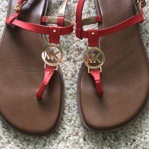 Michael kors sandals 9.5